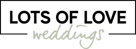 Lots of Love Weddings logo