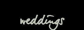 Lots of Love Weddings logo